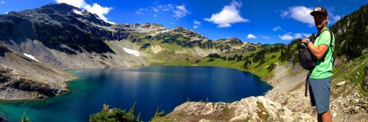 Panoramic of Cirque Lake