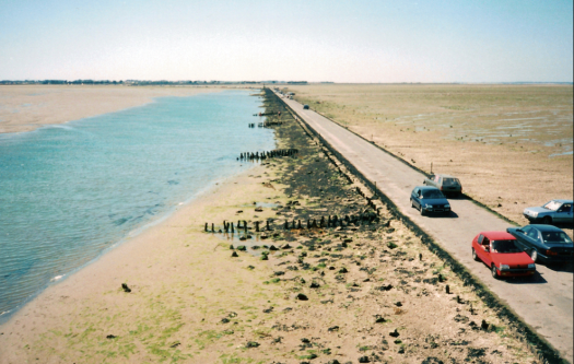 Le Gois at low tide