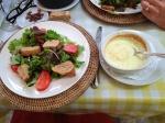 Chèvre Chaud Salad at Taverne Provencale