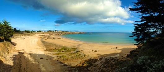Plage des Vielles (beach), La Croix