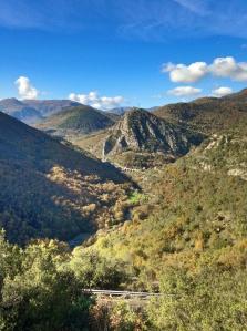 Scenery on drive to Sospel