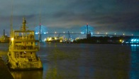 Sockeye Blue at the Savannah town dock