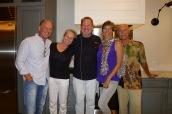 Crew with Chef Bob