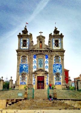 Talavera decorated church