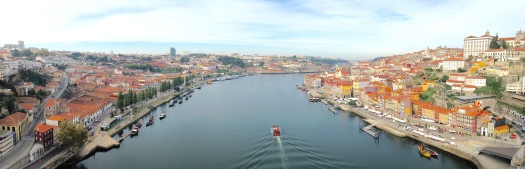 Gaia, Porto and the Douro River