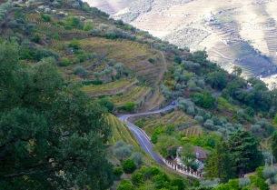 Windy valley highway