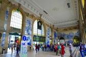 Talavera decorated Porto train station