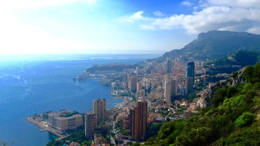 View from Roquebrune