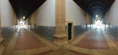 Hallway to convent rooms
